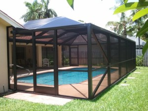 swimming pool screen florida