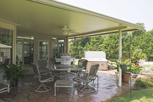 Accurate Aluminum Can Design And Custom Build A Patio Cover On Your Existing Wood Or Concrete Deck Will Protect Outdoor